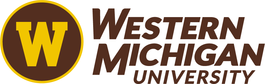 Western Michigan University logo.